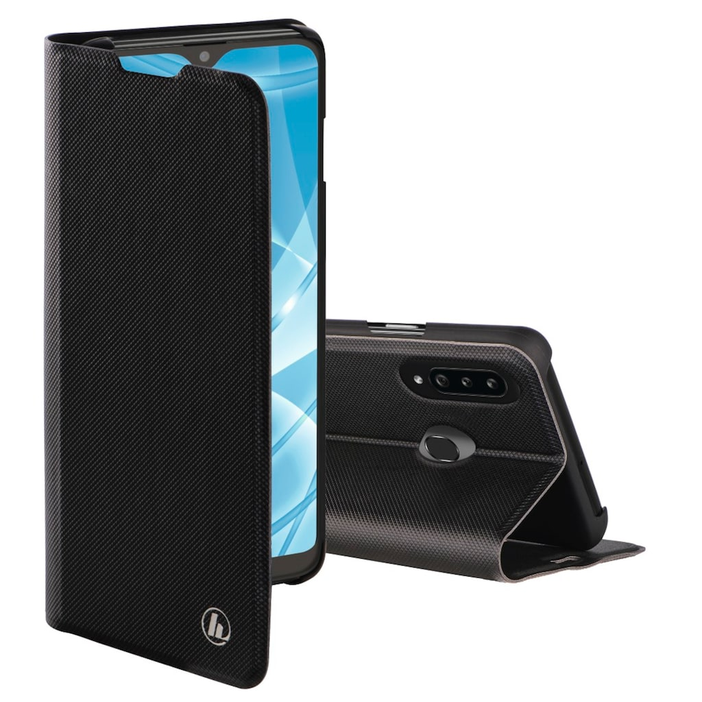"""Hama Handytasche »Smartphone-Booklet Tasche«, """"Slim Pro"""" für Samsung Galaxy A20s, Schwarz"""