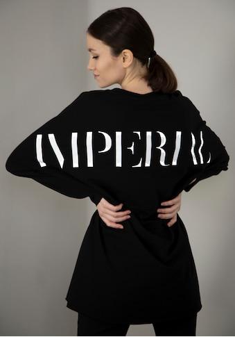 IMPERIAL Longsweatshirt »IMP-F902BC43«, langes Sweat mit großem Rückenprint kaufen