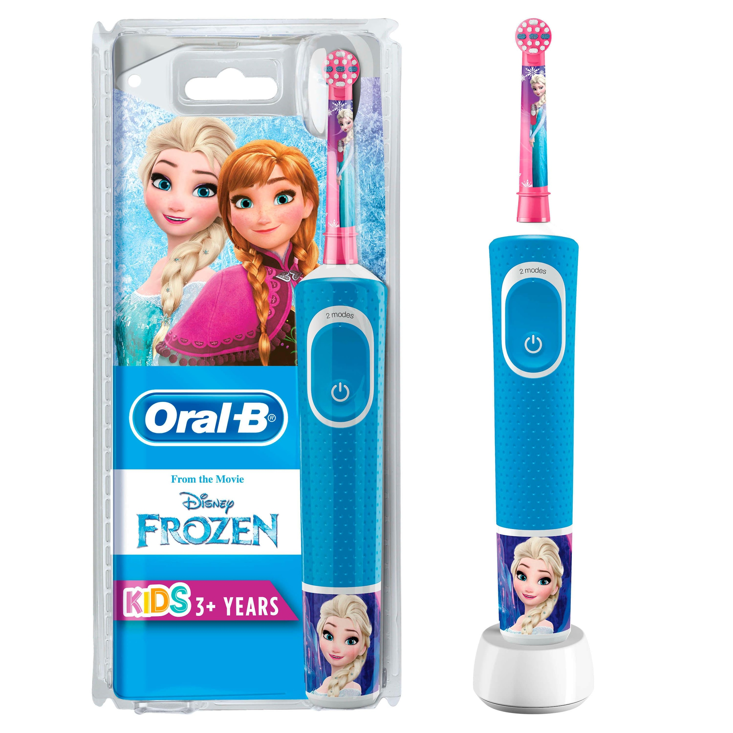 Oral B Elektrische Kinderzahnburste Frozen Elektrische 1 St Aufsteckbursten Kaufen Quelle De