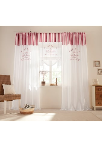 Raffrollo »Belle«, Home affaire, mit Stangendurchzug kaufen