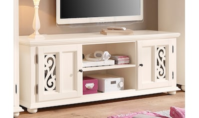 Home affaire Lowboard »Arabeske«, mit schönen dekorativen Fräsungen auf den... kaufen