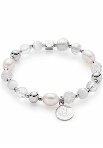 LEONARDO Edelstahlarmband »Hope IIV Darlin's, 016506«, mit Glas-, Kristall- und... kaufen