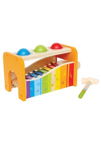 Hape Spielzeug-Musikinstrument »Xylophon«, Xylophon und Hammerspiel kaufen