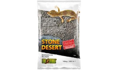 EXO TERRA Terrarien - Substrat »EX Bahariya Black Stone Desert«, 10 kg kaufen