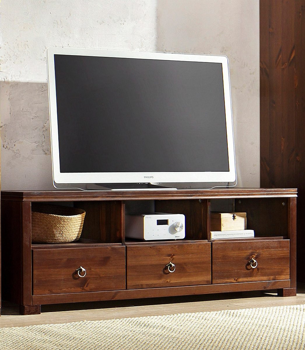 tv lowboard home affaire gotland breite 147 cm auf. Black Bedroom Furniture Sets. Home Design Ideas