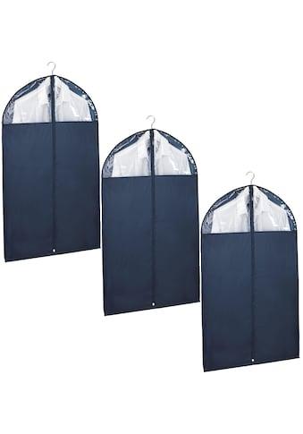 WENKO Kleidersack »Business«, (Set, 3 St., 100 x 60 cm), strapazierfähiges Polyester,... kaufen