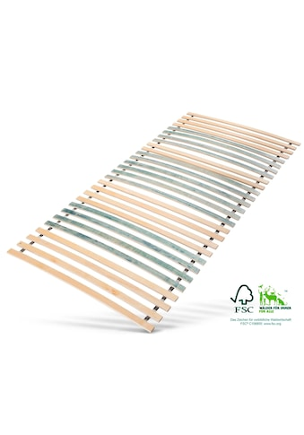 Jekatex Rollrost »7 Zonen Rollrost«, 28 Leisten, Kopfteil nicht verstellbar, bis 200 kg belastbar kaufen