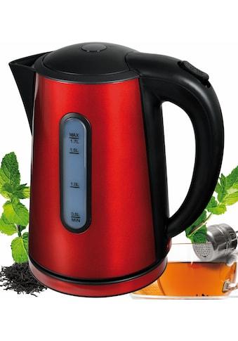 Efbe - Schott Wasserkocher, SCWK1020r, 1,7 Liter, 2000 Watt kaufen