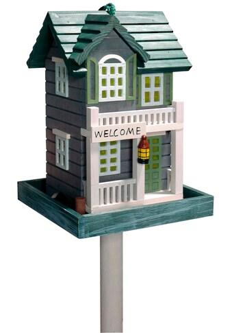 dobar Vogelhaus »Welcome«, BxTxH: 18x18x23 cm, mit Standbein kaufen