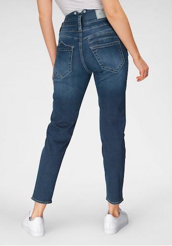 Herrlicher High-waist-Jeans »PITCH HI SLIM REUSED DENIM«, Umweltfreundlich enthält... kaufen