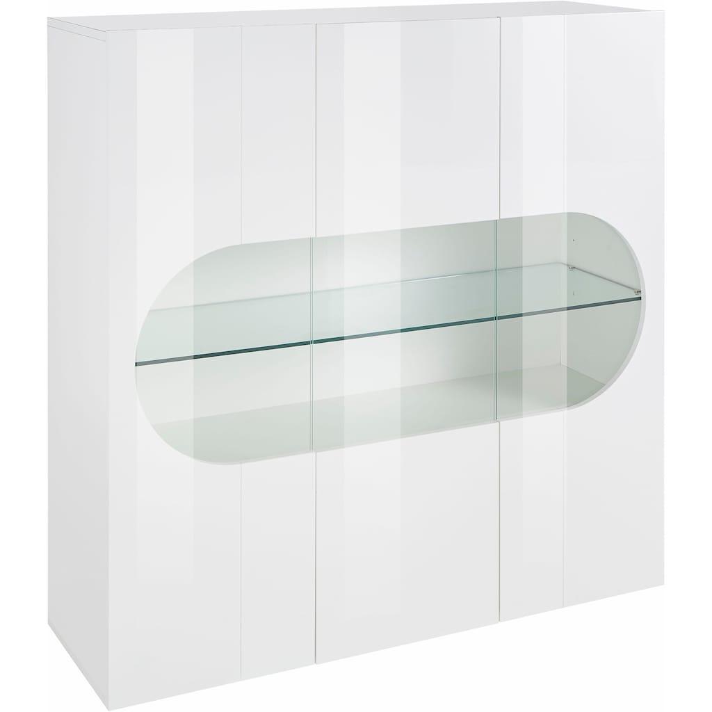 Tecnos Highboard »Real«, Höhe 121 cm