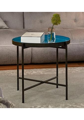 Guido Maria Kretschmer Home&Living Beistelltisch »Nomino«, mit abnehmbarem Tablett kaufen