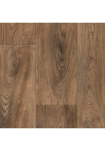 ANDIAMO Packung: Vinylboden »Tas«, Breite 200 cm, Meterware, Holzdielennachbildung, mittelbraun kaufen