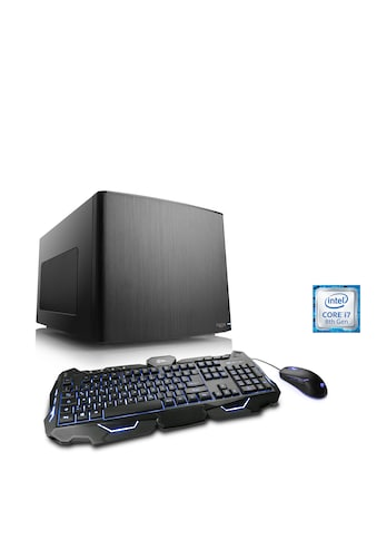 CSL Mini - ITX PC Core i7 - 8700 | GTX 1060 | 16GB DDR4 | 250GB SSD »Gaming Box T7661 Wasserkühlung« kaufen