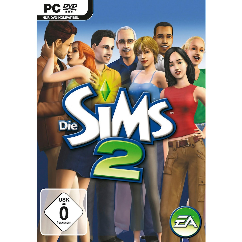 Electronic Arts Spiel »Die Sims 2«, PC, Software Pyramide