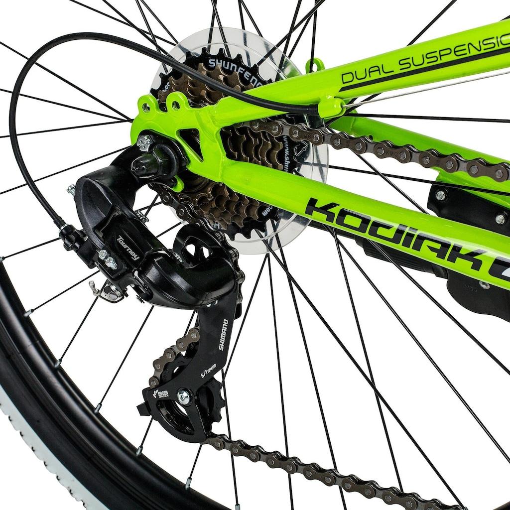 bergsteiger Mountainbike »Kodiak«, Kettenschaltung