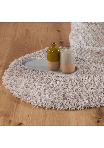 Hochflor - Teppich, »My Candy 170«, Obsession, rund, Höhe 26 mm, maschinell gewebt kaufen
