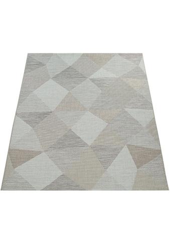 Paco Home Teppich »Kortrijk 743«, rechteckig, 5 mm Höhe, In- und Outdoor geeignet,... kaufen