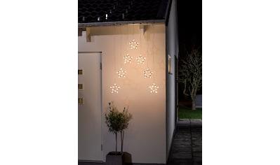 KONSTSMIDE LED Dekolicht, Warmweiß, Lichtervorhang mit 7 Sternensilhouetten kaufen
