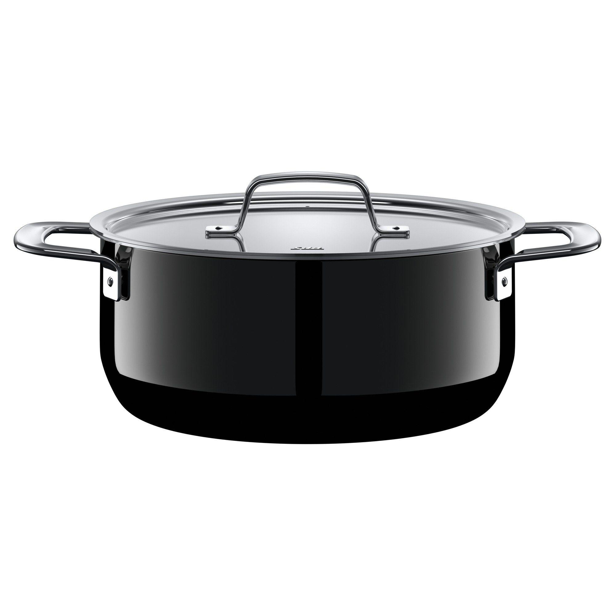 Silit Kochtopf mit Deckel, Silargan, induktionsgeeignet »Zeno Black«   Küche und Esszimmer > Kochen und Backen > Töpfe   Mehrfarbig   SILIT