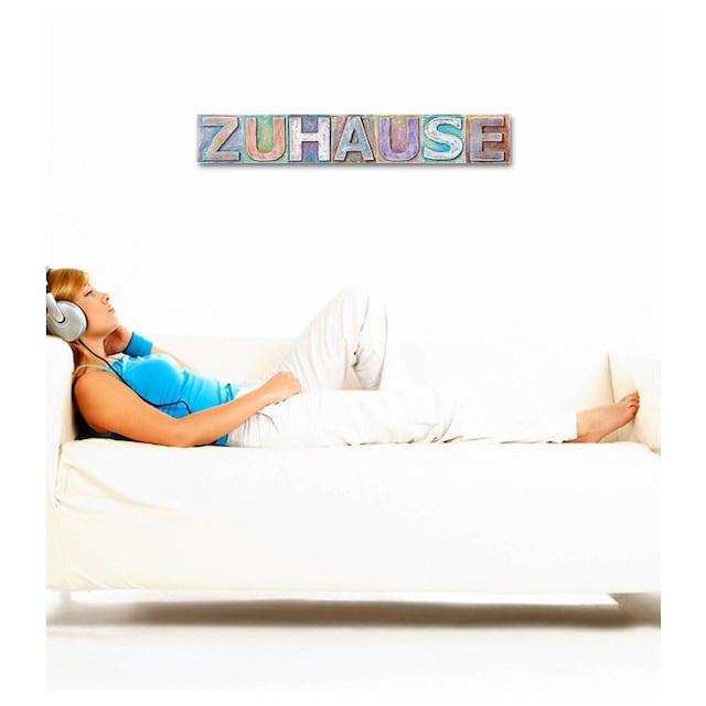 Home affaire Dekoobjekt »Zuhause«