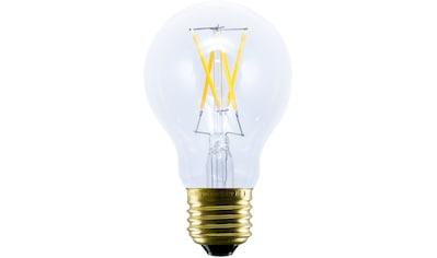 SEGULA LED-Leuchtmittel »LED Bulb Plastic clear«, E27, 1 St., Extra-Warmweiß, Dimmbar, Bruchfest, Außenbereich, Warmlicht kaufen