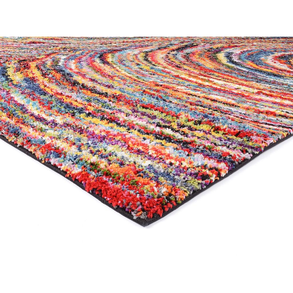 OCI DIE TEPPICHMARKE Hochflor-Teppich »Sixteen Face«, rechteckig, 25 mm Höhe