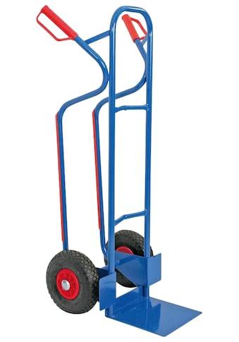 Sackkarre, BxTxH 520x550x1200 mm, Tragkraft 250 kg kaufen