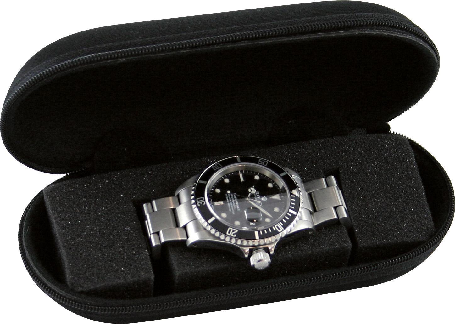 Boxy Uhrenetui »324197« | Uhren > Uhrenboxen | Schwarz | BOXY