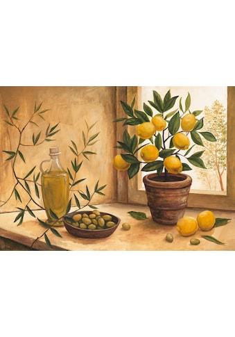 Home affaire Kunstdruck »A. S.: Olive and lime« kaufen