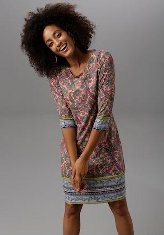 Aniston SELECTED Jerseykleid, im farbenfrohen Muster kaufen
