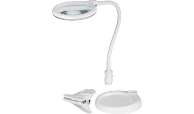 Goobay LED Lupenleuchte »mit Standfuß & zum Klemmen, 6 W« kaufen