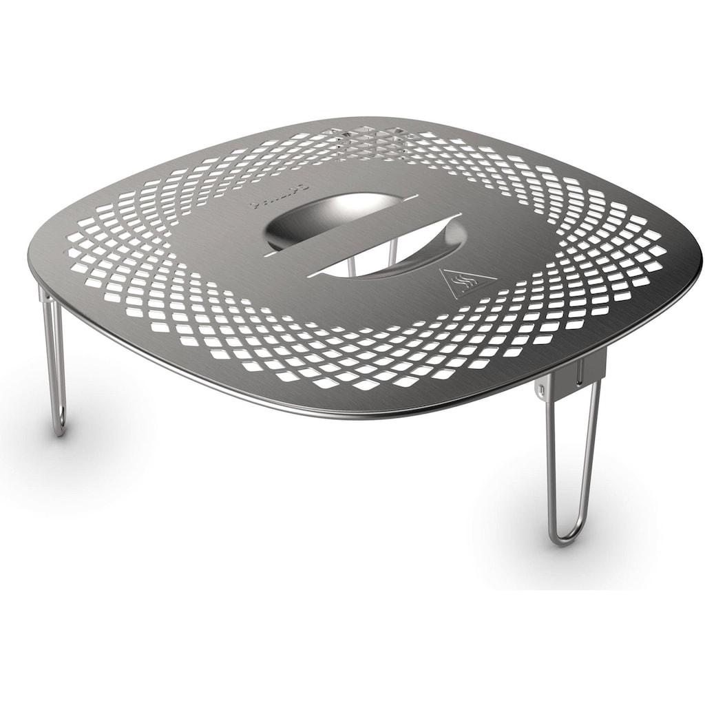 Philips Grillpfanneneinsatz »HD9954/01 Snack Profi-Kit«, Edelstahl-Silikon, (3 St.), Zubehör für Airfryer XXL