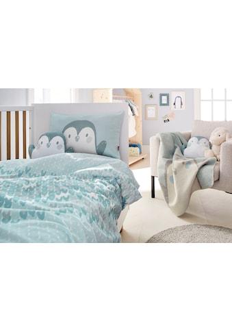 s.Oliver Junior Babydecke »Pinguin«, GOTS zertifiziert kaufen