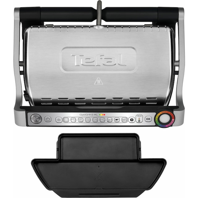 Tefal Kontaktgrill GC722D OptiGrill+ XL, 2000 Watt