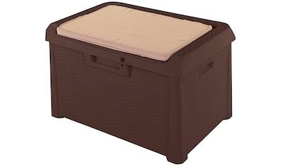 ONDIS24 Auflagenbox »Santo Kompakt«, 73 x 50 x 50, 120 Liter, Kunststoff kaufen