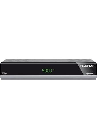 TELESTAR HDTV - Satelliten Receiver (HDMI, SCART, USB, PVR Ready) »digiHD TS7« kaufen