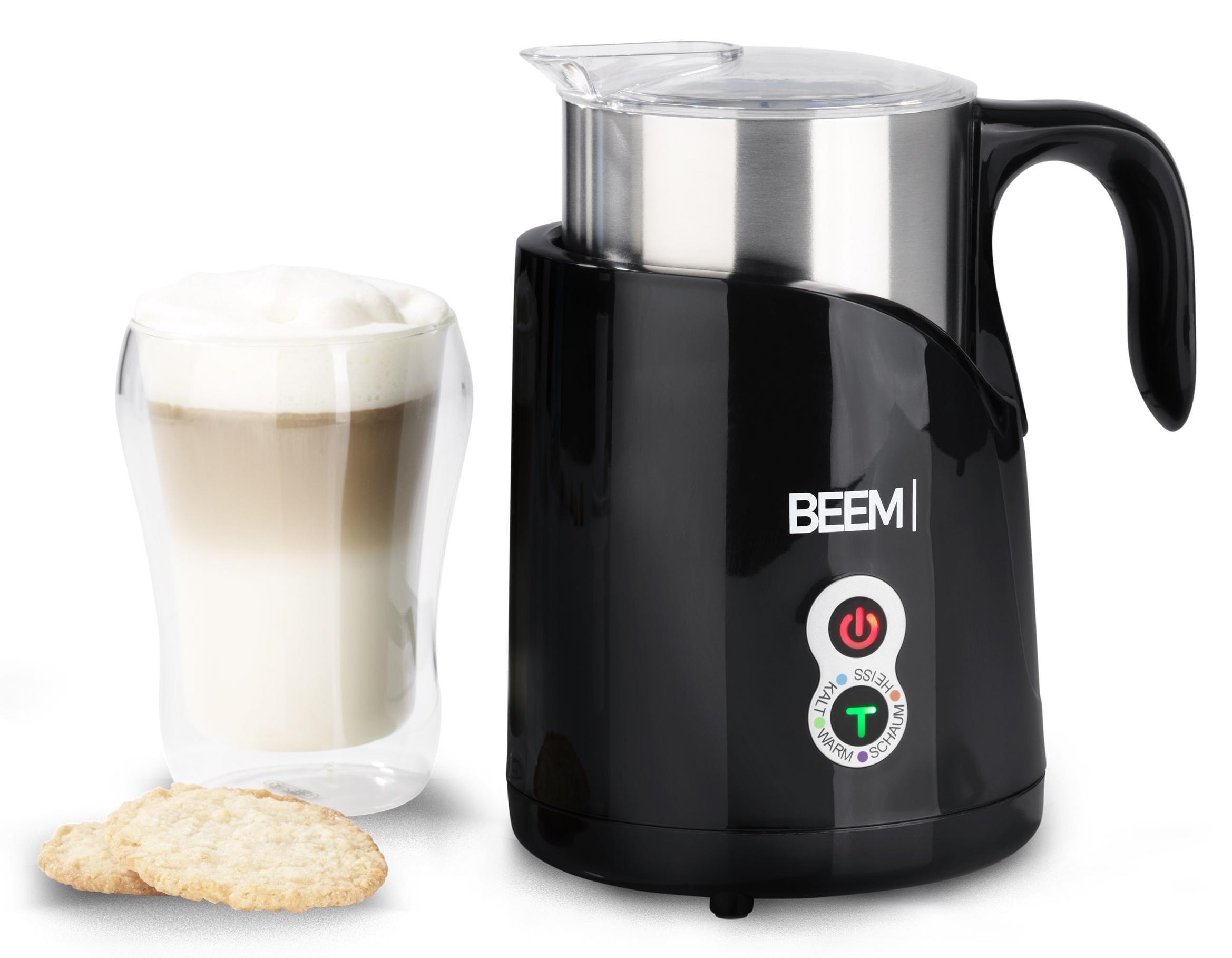 BEEM Milchaufschäumer 1110BK | Küche und Esszimmer > Kaffee und Tee > Milchaufschäumer | Schwarz | BEEM