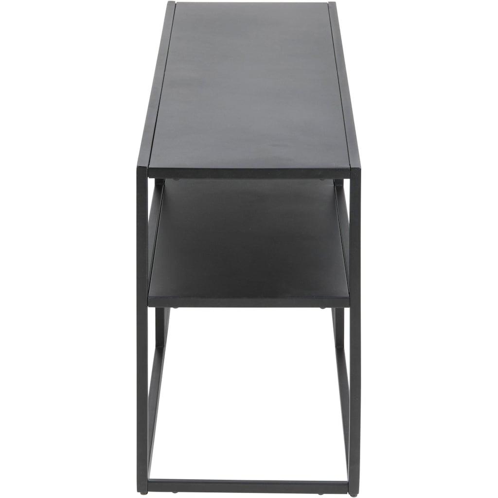 andas Konsolentisch »Vilho«, aus schönem, schwarzen Metall, Breite 120 cm