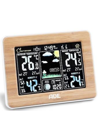 ADE »WS 1703« Funkwetterstation (mit Außensensor) kaufen