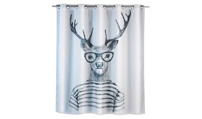 WENKO Duschvorhang »Mr. Deer«, Breite 200 cm, Höhe 180 cm kaufen