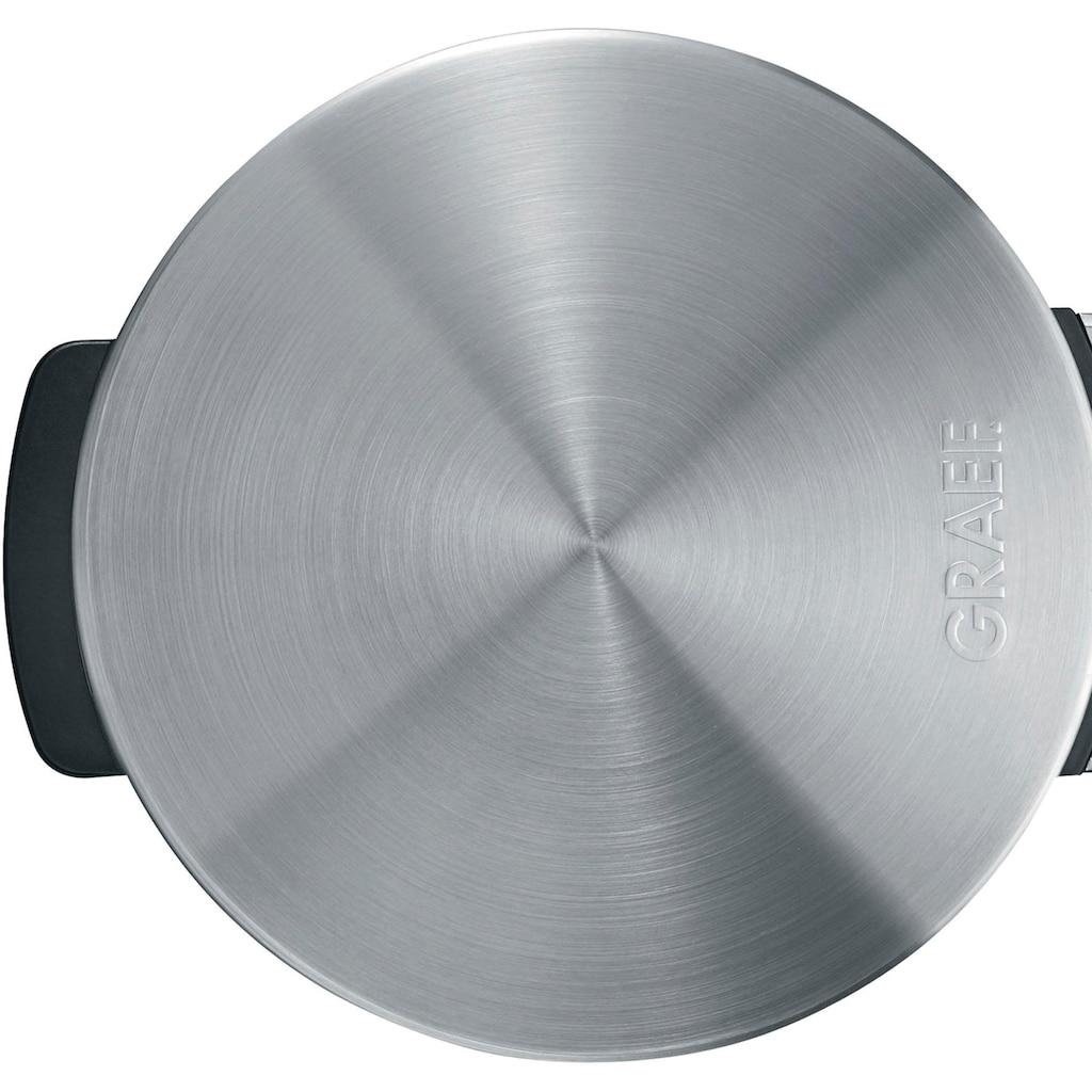Graef Waffeleisen »WA 80, Edelstahl matt«, 850 W