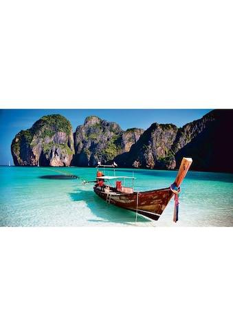 Home affaire Glasbild »Maya Bay« kaufen
