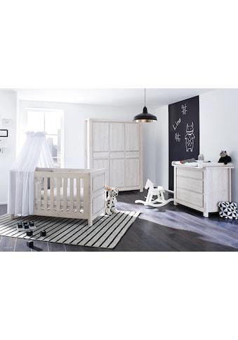 Pinolino® Babyzimmer-Komplettset »Line«, (Set, 3 St.), breit groß; mit Kinderbett,... kaufen