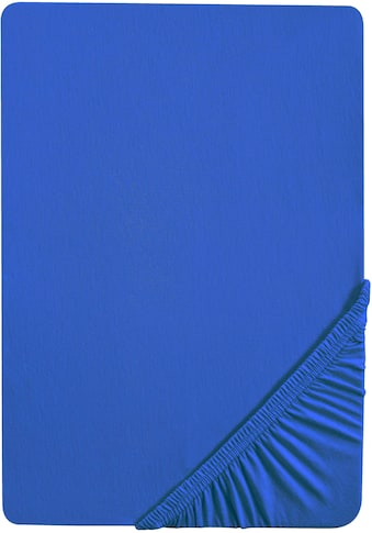 Biberna Spannbettlaken »Leila«, Jersey, mit Rundumgummi kaufen