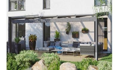 Skanholz Terrassendach »Novara«, BxT: 557x259 cm kaufen