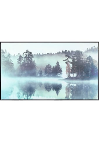 Reinders! Leinwandbild »Meer im Wald Im Nebel - Leinwandbild« kaufen