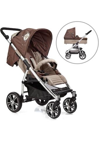 """Gesslein Kombi - Kinderwagen """"S4 Air+, Eloxiert/Nautik & Babywanne C3 Nautik"""" kaufen"""