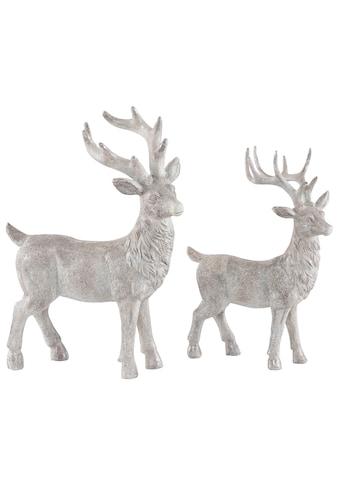 Home affaire Tierfigur »Hirsche« (2 Stück) kaufen