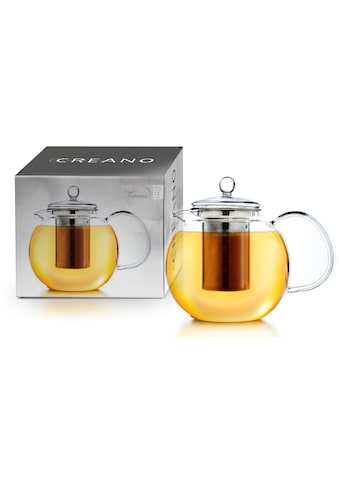 Creano Teekanne, 1,7 l, aus Borosilikatglas, inkl. Edelstahlfilter kaufen